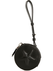 Givenchy Star Motif Coin Pouch Black