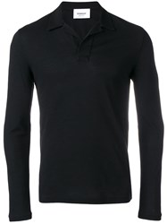 Dondup V Neck Sweatshirt Black