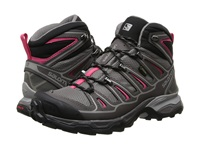 Salomon X Ultra Mid 2 Gtx Detroit Autobahn Hot Pink Women's Shoes Brown