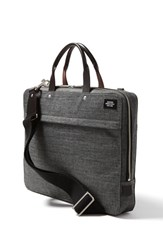 Jack Spade Men's 'Tech Oxford' Slim Laptop Briefcase Grey