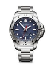 Victorinox Inox Pro Diver Blue Dial Stainless Steel Bracelet Watch