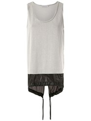 Mara Mac Layered Tank Top Black
