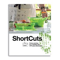 Lekue Shortcuts Microwave Cook Book