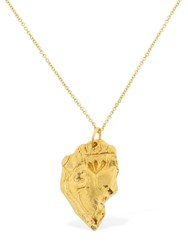 Alighieri The Sicilian Bleeding Heart Necklace Gold