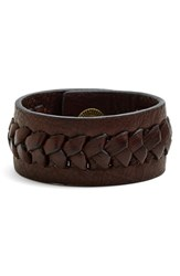 Women's Frye 'Jenny' Braided Leather Bracelet