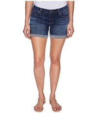 Lucky Brand The Roll Up Shorts In Liberated Liberated Women's Shorts White