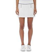 Tory Sport Women's Cross Stitched Tennis Skirt White