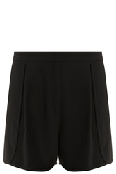 Elie Saab Stretch Cady Shorts Black