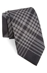 Burberry Men's Check Silk And Cashmere Tie