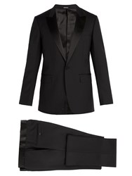 Lanvin Single Breasted Wool Blend Tuxedo Black