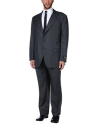 Belvest Suits Steel Grey