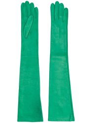 N 21 No21 Elbow Length Gloves Green