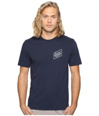 Brixton Bedford Short Sleeve Premium Tee Navy Men's T Shirt