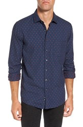 Rodd And Gunn Men's Annaby Sports Fit Dot Sport Shirt