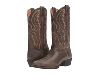 Ariat Sport R Toe Brooklyn Brown Cowboy Boots