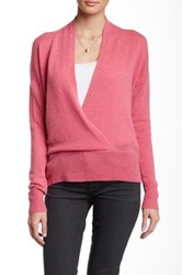 Cullen Deep V Neck Cashmere Sweater Pink