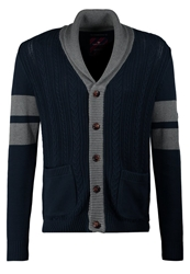 Tom Tailor Cardigan Black Iris Blue Dark Blue