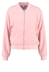 Tom Tailor Denim Bomber Jacket Cosy Rose