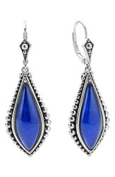 Women's Lagos 'Contessa' Semiprecious Stone Drop Earrings Lapis
