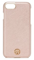 Tory Burch Robinson Hardshell Iphone 7 Case Rose Gold
