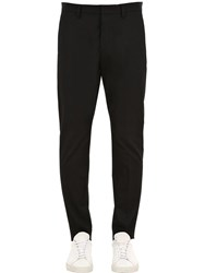 Dsquared Hockney Fit Cotton Twill Chino Pants Black