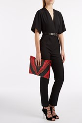 Martin Grant Short Sleeved Jumpsuit