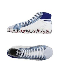 Springa Footwear High Tops And Trainers Men Slate Blue
