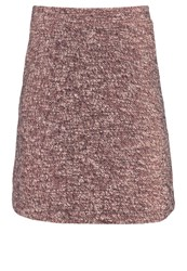 Comma Aline Skirt Grey Black Taupe