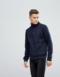French Connection Half Zip Sweat Navy