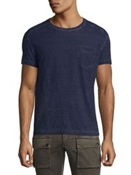 Belstaff Crossfell Pocket Tee Antique Black Ink Blue