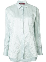 Sies Marjan Ruched Effect Shirt Blue