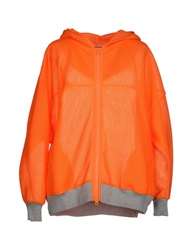 Adidas By Stella Mccartney Jackets Orange