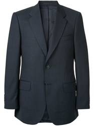 Gieves And Hawkes Formal Fitted Blazer Blue