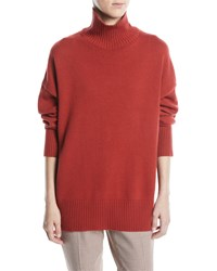 Lafayette 148 New York Cashmere Relaxed Pullover Sweater Saffron