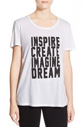 Women's Cj By Cookie Johnson 'Inspire' Scoop Neck Tee
