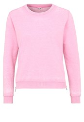 Dimensione Danza Felpa Devore Sweatshirt Flamingo Rose
