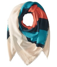 Michael Stars Between The Lines Square Multi Scarves