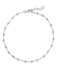 Officina Bernardi Moon Chain Anklet Silver