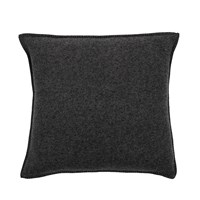 Zoeppritz Since 1828 Soft Wool Cushion 50X50cm Dark Grey