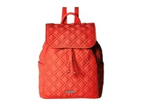 Vera Bradley Drawstring Backpack Canyon Sunset Backpack Bags Red