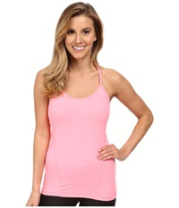 Zobha Lorena Solid Tank Top Vintage Pink Women's Workout