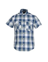 Woolrich Shirts Shirts Men Blue