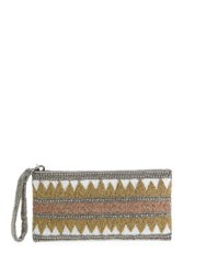 Mary Frances Culture Shock Beaded Wristlet Gold