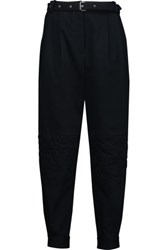 Belstaff Reilelly Stretch Cotton Tapered Pants Midnight Blue