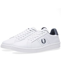 Fred Perry B721 Leather Sneaker White
