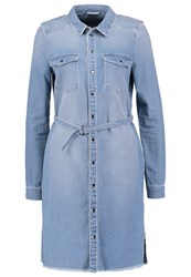 Noisy May Nmpatric Denim Dress Light Blue Denim Light Blue Denim