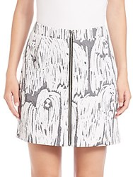Opening Ceremony Komondor Mini Skirt Black Multicolor