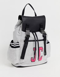 Juicy Couture Logo Backpack Grey