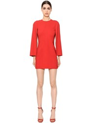 Givenchy Cady Stretch Dress W Vented Sleeves