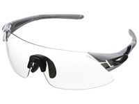 Tifosi Optics Asian Podium Xc Fototec Silver Gunmetal Athletic Performance Sport Sunglasses